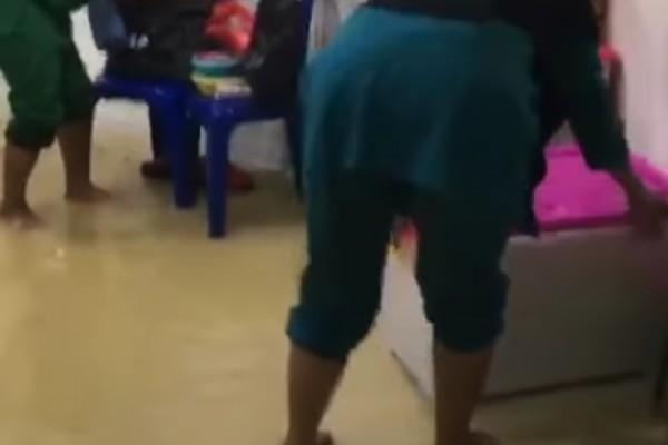 Kondisi dalam ruangan rumah sakit rujukan Baning Kab sintang