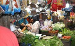 Kondisi Pasar Junjung Buih Kabupaten Sintang.
