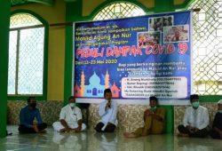Pengurus Masjid An Nur Dan Pemda Sintang Kerja Sama Salurkan Bantuan Dampak Covid -19