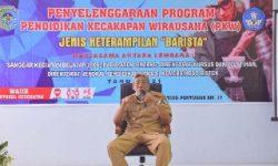 Kab. Sintang Gelar PKW Barista, Bupati Sampaikan Ucapan Terima Kasih dan Beri Dukungan.