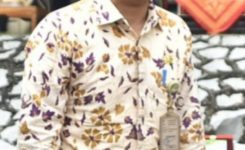 Foto:Kadinkes Kab Sintang,dr.Harsinto Linoh