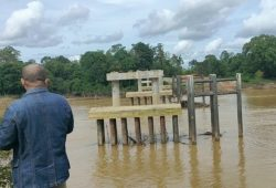 Telan Anggaran Fantastis,Jembatan Melawi Masih Mangkrak