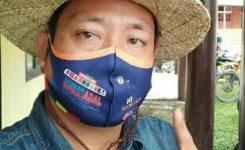 Foto: Paulus saat berada Di Kecamatan Serawai