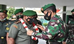 Letkol Inf Eko BintaraSaktiawan Lepas Tiga Perwira dan 3 bintara
