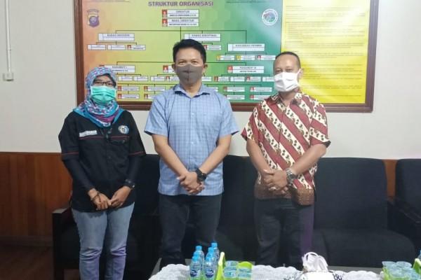 Kunjungi Dirnarkoba Polda Kalbar,DPD LPM Propinsi Kalbar Sampaikan Serius Berantas Narkoba