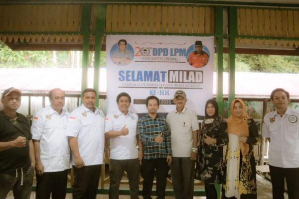 Ketua DPD LPM Kab Sintang: LPM Harus Fokus Membantu Pemerintah Daerah