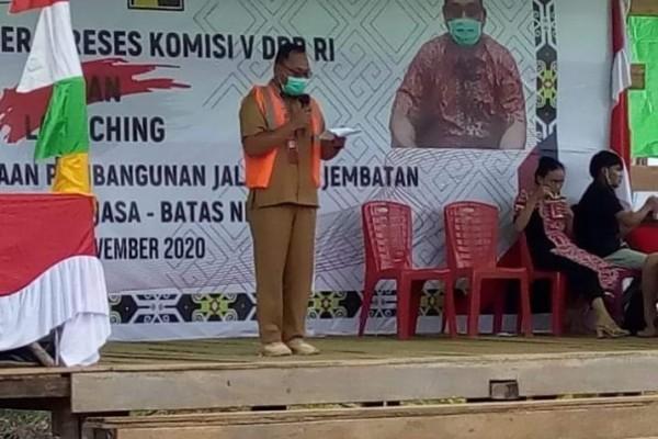 Pemkab Sintang Minta Lasarus Perjuangkan Perubahan Status Jalan Sintang-Rasau