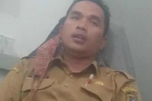 "Proyek Sapras Air Bersih Desa Tanjung Sari Terbengkalai, Kasi BPSKL Kab Sintang,""Mana Saya Tau""."
